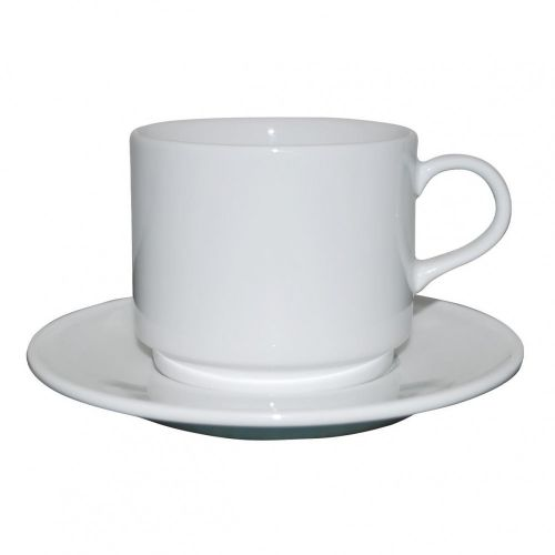 Q Basic stapelbare Kaffee 22 cl. SET bedrucken